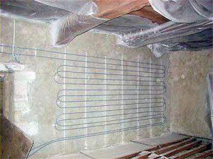 Isolation de mur intérieur