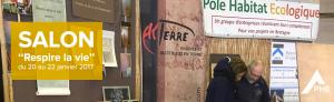 Salon Respire la vie du 20 au 22 janvier 2017