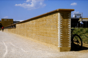 Mur en pisé