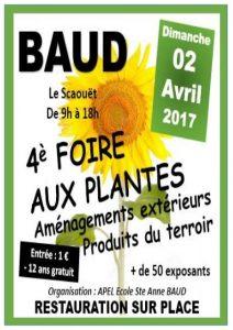 Foire aux plantes à Baud