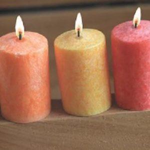 bougies-stearine-mini-cylindres
