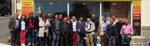 Visite du Synamome des régions Bretagne au Pôle Habitat Écologique à Baud