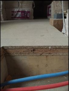 isolation entre deux planchers