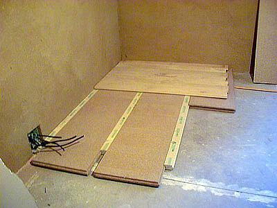 plancherPlancher dalles flottantes isolation phoniques thermiques