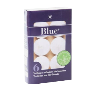 Veilleuses Stearines Bio Blanches
