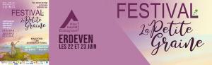 Présence au festival de la Petite Graine à ERDEVEN